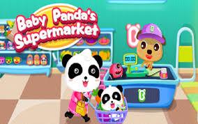 Supermarket -panda -baby-1